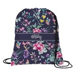 Chinoiserie Drawstring Backpack (Personalized)