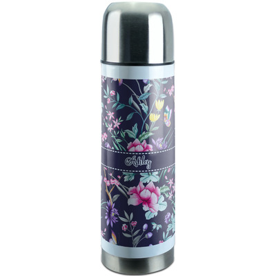 Chinoiserie Stainless Steel Thermos (Personalized)