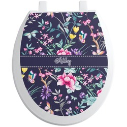 Chinoiserie Toilet Seat Decal (Personalized)