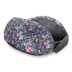 Chinoiserie Travel Neck Pillow (Personalized)