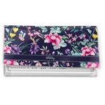 Chinoiserie Vinyl Check Book Cover (Personalized)