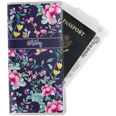 Chinoiserie Travel Document Holder