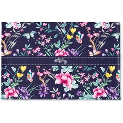 Chinoiserie Woven Mat (Personalized)