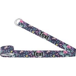 Chinoiserie Yoga Strap (Personalized)