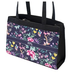 Chinoiserie Zippered Everyday Tote (Personalized)