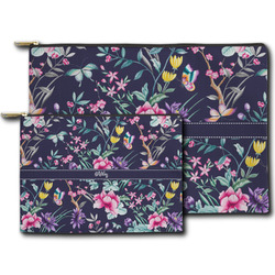 Chinoiserie Zipper Pouch (Personalized)