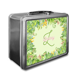 Tropical Leaves Border Lunch Box (Personalized)