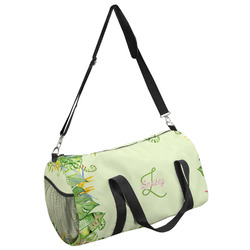 Tropical Leaves Border Duffel Bag - Multiple Sizes (Personalized)
