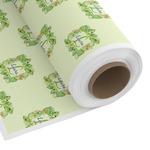 Tropical Leaves Border Custom Fabric by the Yard (Personalized)