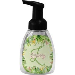 Tropical Leaves Border Foam Soap Dispenser (Personalized)