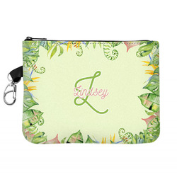 Tropical Leaves Border Golf Accessories Bag (Personalized)