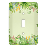 Tropical Leaves Border Light Switch Covers (Personalized)