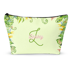 Tropical Leaves Border Makeup Bags (Personalized)