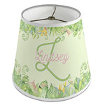 Tropical Leaves Border Empire Lamp Shade (Personalized)