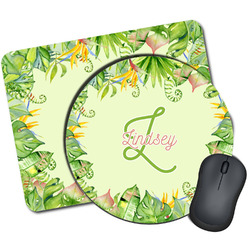 Tropical Leaves Border Mouse Pads (Personalized)