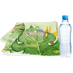 Tropical Leaves Border Sports & Fitness Towel (Personalized)