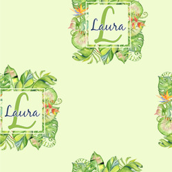 Tropical Leaves Border Wallpaper & Surface Covering