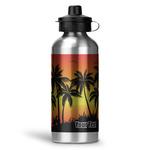 Tropical Sunset Water Bottle - Aluminum - 20 oz (Personalized)