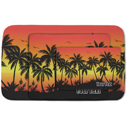 Tropical Sunset Area Rug (Personalized)