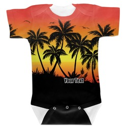 Tropical Sunset Baby Bodysuit (Personalized)