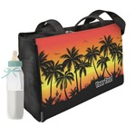 Tropical Sunset Diaper Bag w/ Name or Text
