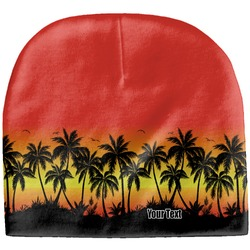 Tropical Sunset Baby Hat (Beanie) (Personalized)