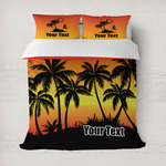 Tropical Sunset Duvet Covers (Personalized)