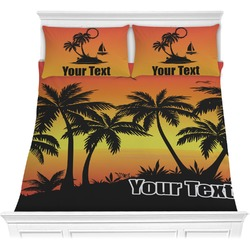 Tropical Sunset Comforters (Personalized)