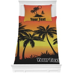 Tropical Sunset Comforter Set - Twin (Personalized)