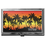 Tropical Sunset Business Card Case