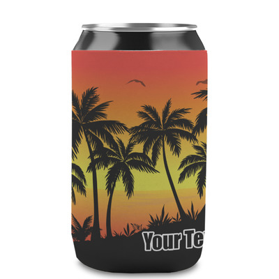 Tropical Sunset Can Sleeve (12 oz) (Personalized)