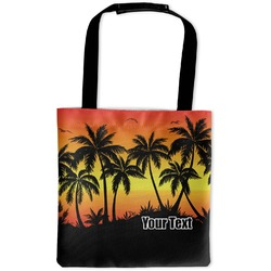 Tropical Sunset Auto Back Seat Organizer Bag (Personalized)