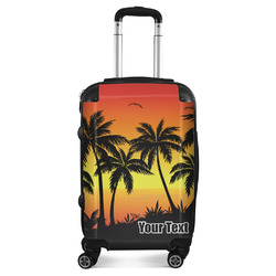 Tropical Sunset Suitcase (Personalized)