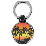 Tropical Sunset Cell Phone Ring Stand & Holder (Personalized)