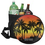 Tropical Sunset Collapsible Cooler & Seat (Personalized)