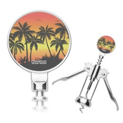 Tropical Sunset Corkscrew (Personalized)
