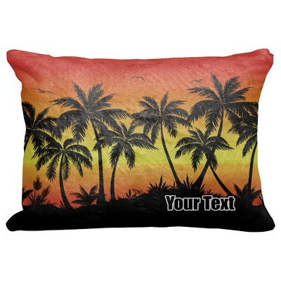 """Tropical Sunset Decorative Baby Pillowcase - 16""""x12"""" (Personalized)"""