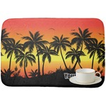 Tropical Sunset Dish Drying Mat (Personalized)