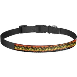 Tropical Sunset Dog Collar - Large (Personalized)