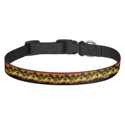Tropical Sunset Dog Collar - Multiple Sizes (Personalized)