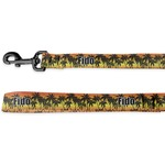 Tropical Sunset Deluxe Dog Leash (Personalized)