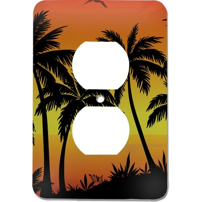 Tropical Sunset Electric Outlet Plate (Personalized)