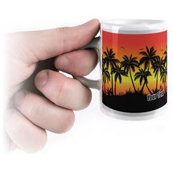 Tropical Sunset Espresso Mug - 3 oz (Personalized)