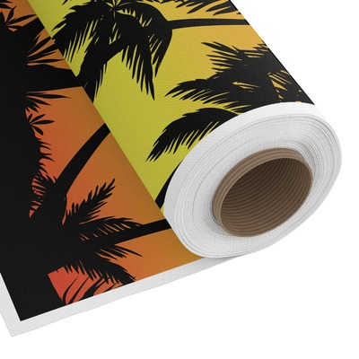 Tropical Sunset Custom Fabric by the Yard (Personalized)