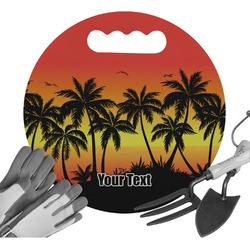Tropical Sunset Gardening Knee Cushion (Personalized)