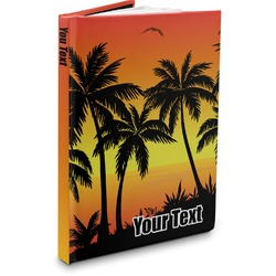 Tropical Sunset Hardbound Journal (Personalized)