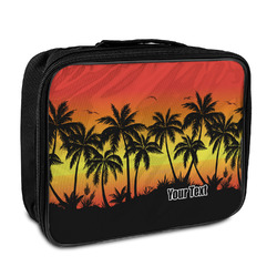 Tropical Sunset Insulated Lunch Bag (Personalized)