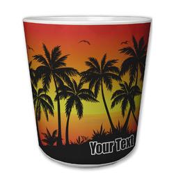 Tropical Sunset Plastic Tumbler 6oz (Personalized)