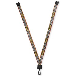 Tropical Sunset Lanyard (Personalized)