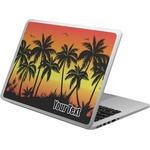 Tropical Sunset Laptop Skin - Custom Sized (Personalized)
